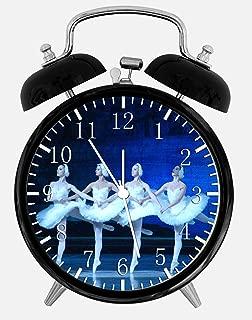Ballet Swan Lake Alarm Desk Clock 3.75