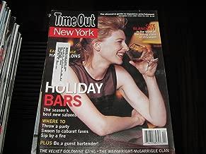 Time Out New York Magazine (Cate Blanchett...Elizabeth , The Velvet Goldmine Gang , The Wainright-McGarrigle Clan, November 5-12 , 1998)