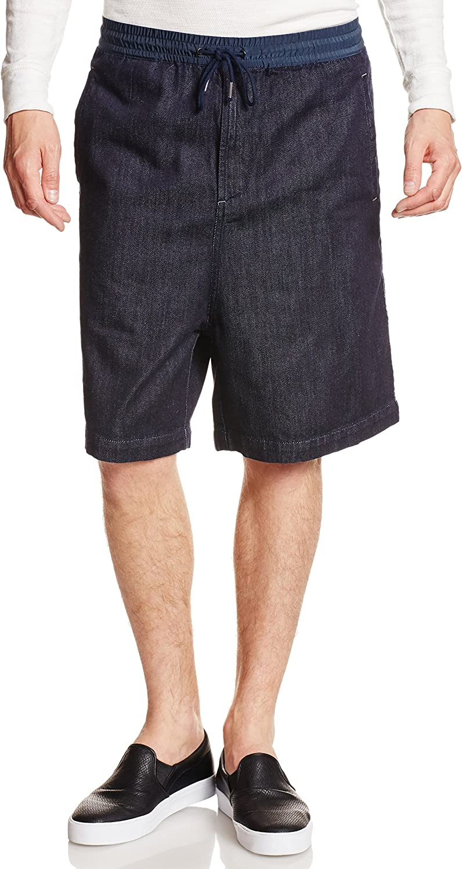 Diesel Men's Blue Sai-ND Short, Denim, Medium