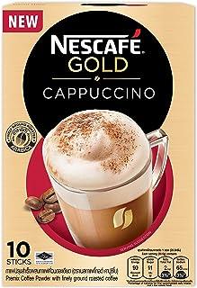Nescafe Gold Cappuccino Coffee 10S x 20.5g