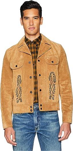 Coach X Keith Haring Suede Jacket