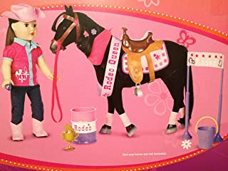 """My Life As Rodeo Horse Accessory Kit, Play Accessory for 18"""" Dolls Like American Girl Saige Felicity Penny by My Life As"""