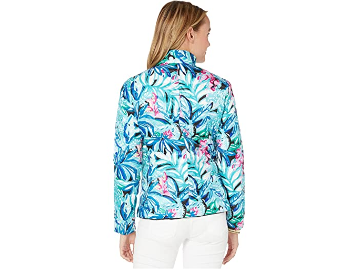Lilly Pulitzer Marilee Reversible Jacket Maldives Green Hype It Up Cos & Outerwear