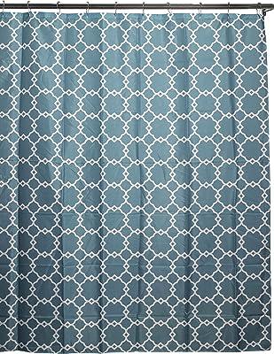 Duck River Textile Alyssa Geometric, 70x72, Aqua