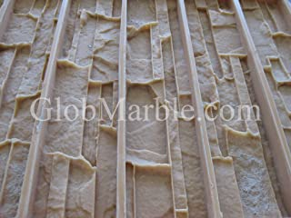 GlobMarble Cultured Stone Mold, Wall Veneer Paver. Rubber Mold Vs 601/1