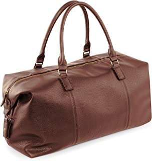 Quadra NuHude Faux Leather Weekender Holdall Bag (Pack of 2)