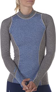 Sub Sports Fitted Women's Thermal Long Sleeve Mock Neck Top