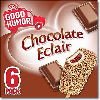Good Humor Ice Cream & Frozen Desserts Bar, Chocolate Eclair 6 Count