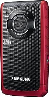 Samsung Electronics 防水高清錄音帶 1 個光學變焦HMX-W200RN/XAA 紅色