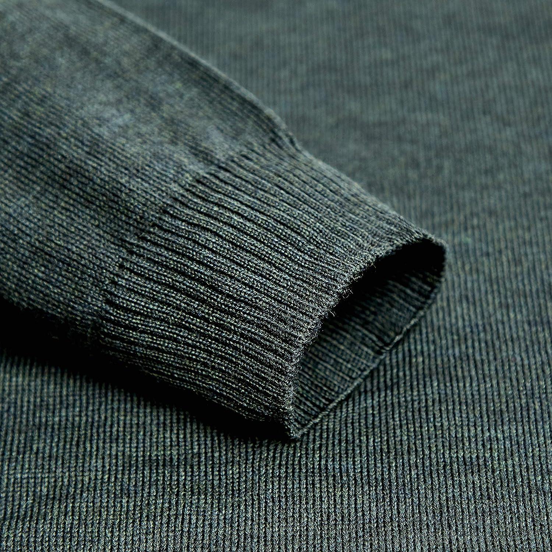 Paul James Knitwear Herren Pullover Grün (Olive)