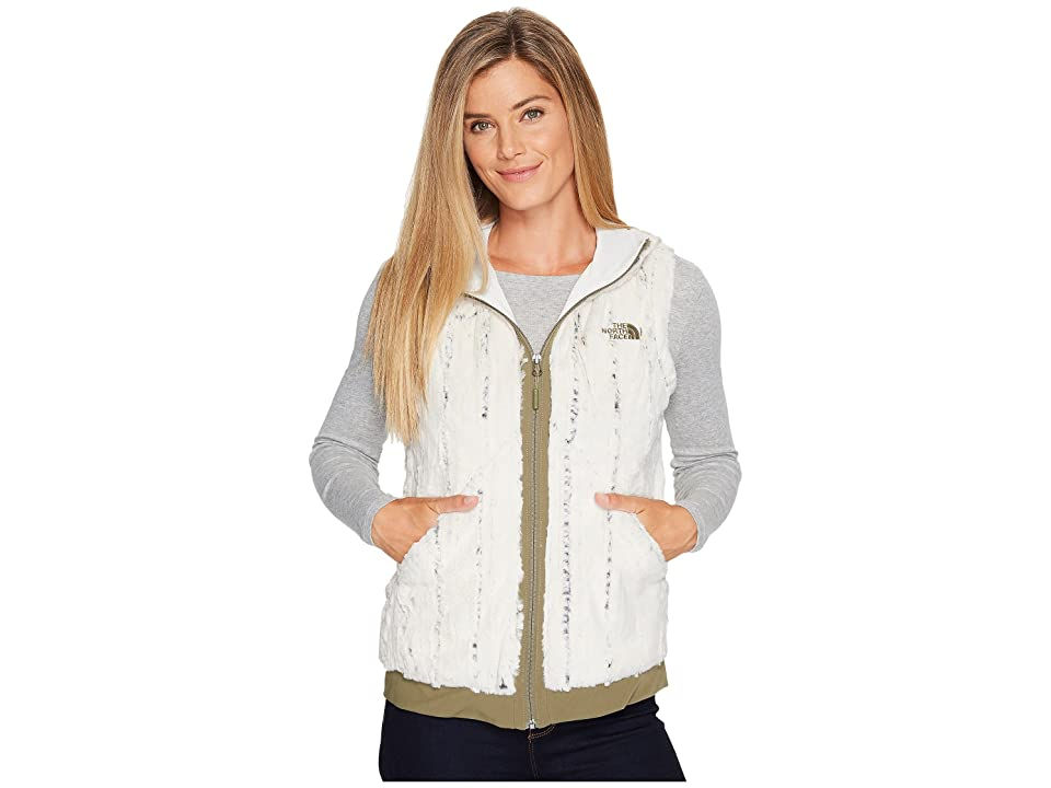 The North Face Furlander Vest (Vintage White/Burnt Olive Green) Women