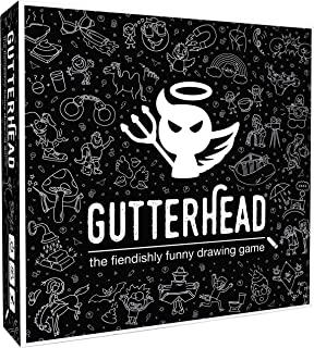 Gutterhead - The Fiendishly Funny Drawing Game [Party Game for Adults]