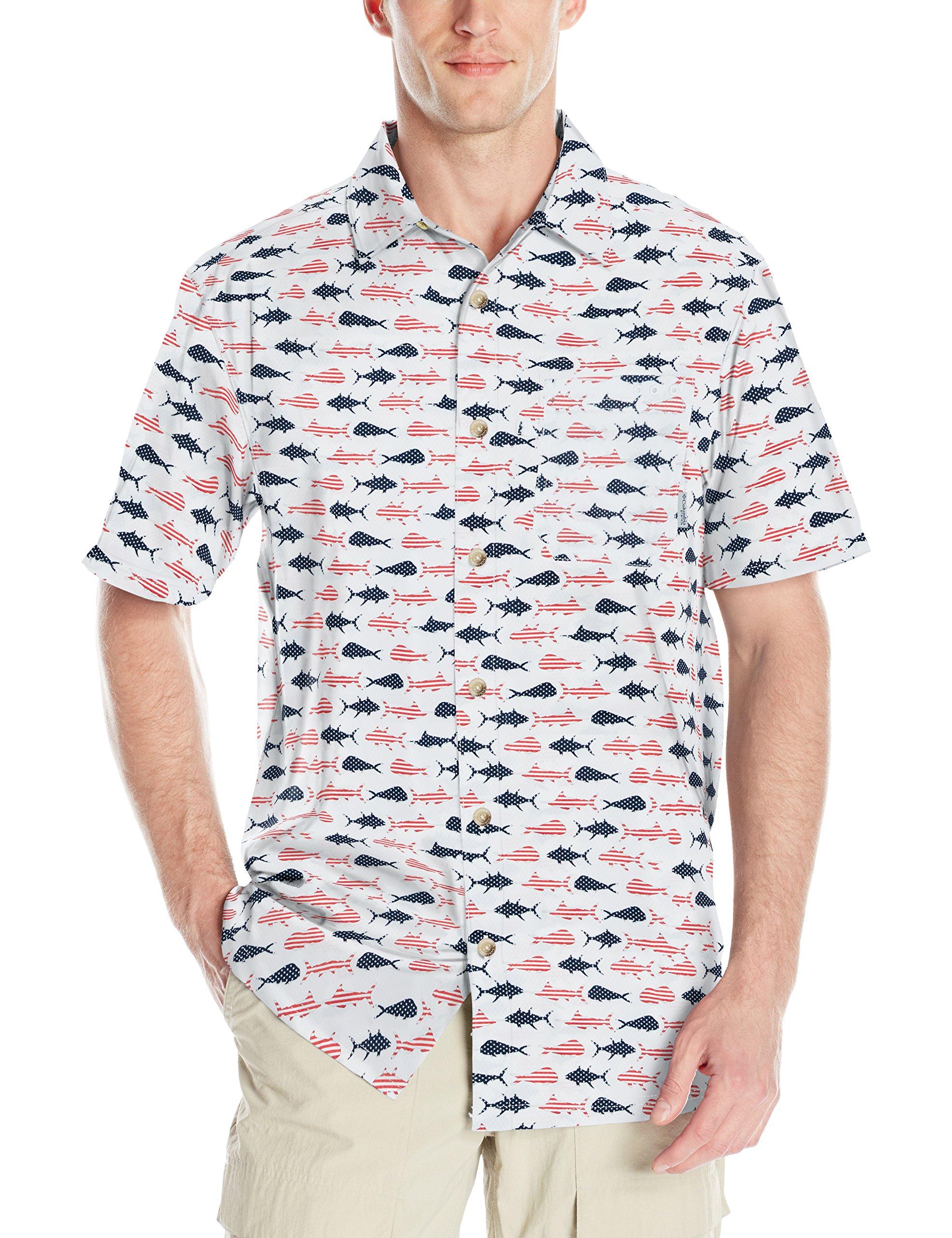 Best Buy Columbia Men's Super Slack Tide Camp Shirt Reviews