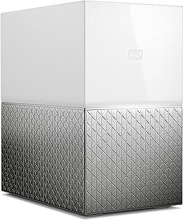 Western Digital WDBMUT0060JWT-SESN My Cloud Home Duo Personal Cloud Storage, 6TB