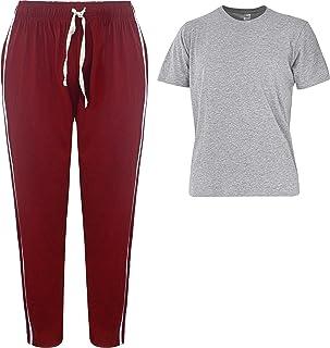 Mens Pyjamas Super Soft Cotton Mix Men Pjs Set Pyjamas for Man Nightwear Lounge wear