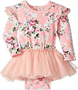 Rock Your Baby - Long Sleeve Muave Circus Dress (Infant)