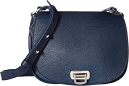 Luxe Grain Mini Flap Shoulder