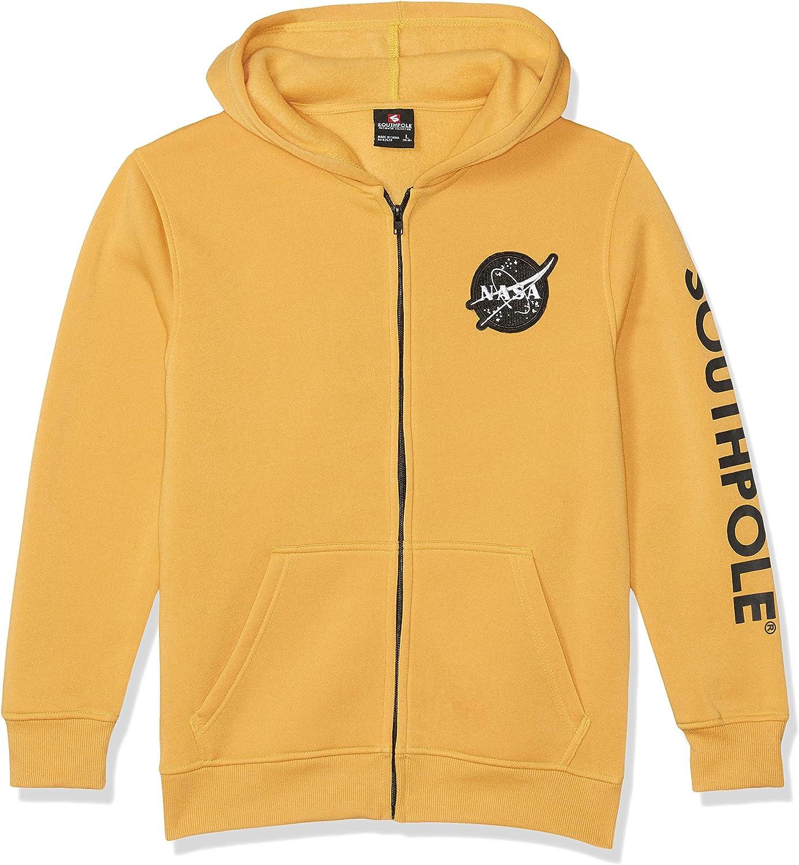 Southpole Baby Boys' Big NASA Collection Fleece Sweatshirt (Hoody, Crewneck)