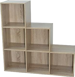 comprar comparacion Alsapan 483662 - Estantería, Roble, 93 x 30 x 94 cm