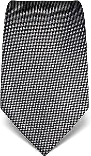 motivo a righe Vincenzo Boretti cravatta elegante classica da uomo 8 cm x 15 cm di pura seta di alta qualit/à idrorepellente e antisporco