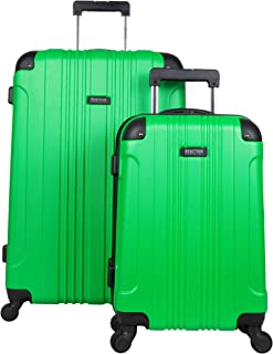 Out Of Bounds 2-Piece Lightweight Hardside 4-Wheel Luggage Set: 20