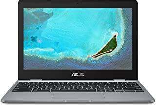 "Asus Chromebook C223NA-DH02 11.6"" HD, Intel Dual-Core Celeron N3350 Processor (Up to 2.4GHz) 4GB RAM, 32GB eMMC Storage, Grey"