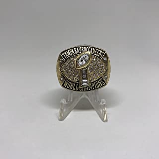 2002-03 Dexter Jackson MVP Tampa Bay Buccaneers High Quality Replica 2003 Super Bowl XXXVII Championship Ring-Gold Color Size 11 US SHIPPING