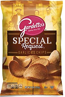 Gardetto's Roasted Garlic Rye Chips, 8.0-Ounce Bags (Pack of 12)