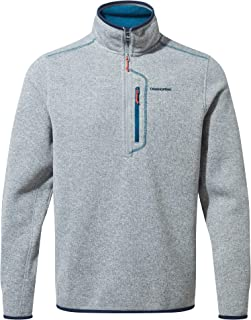 Craghoppers Mens Bronto Half Zip Soft Microfleece Insulated Sweater