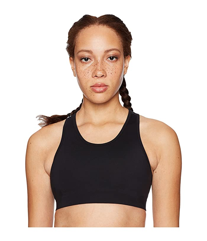 Core 10 Icon Series The Track Star Sports Bra (Black/Grey/White) Women
