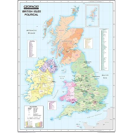 Cartina Geografica Fisica Della Gran Bretagna.Mappa Fisica Della Gran Bretagna E Delle Grandi Isole Britanniche Carta Plastificata 120 X 100 Cm Amazon It Cancelleria E Prodotti Per Ufficio