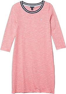 3/4 Sleeve Spacedye Knit Dress