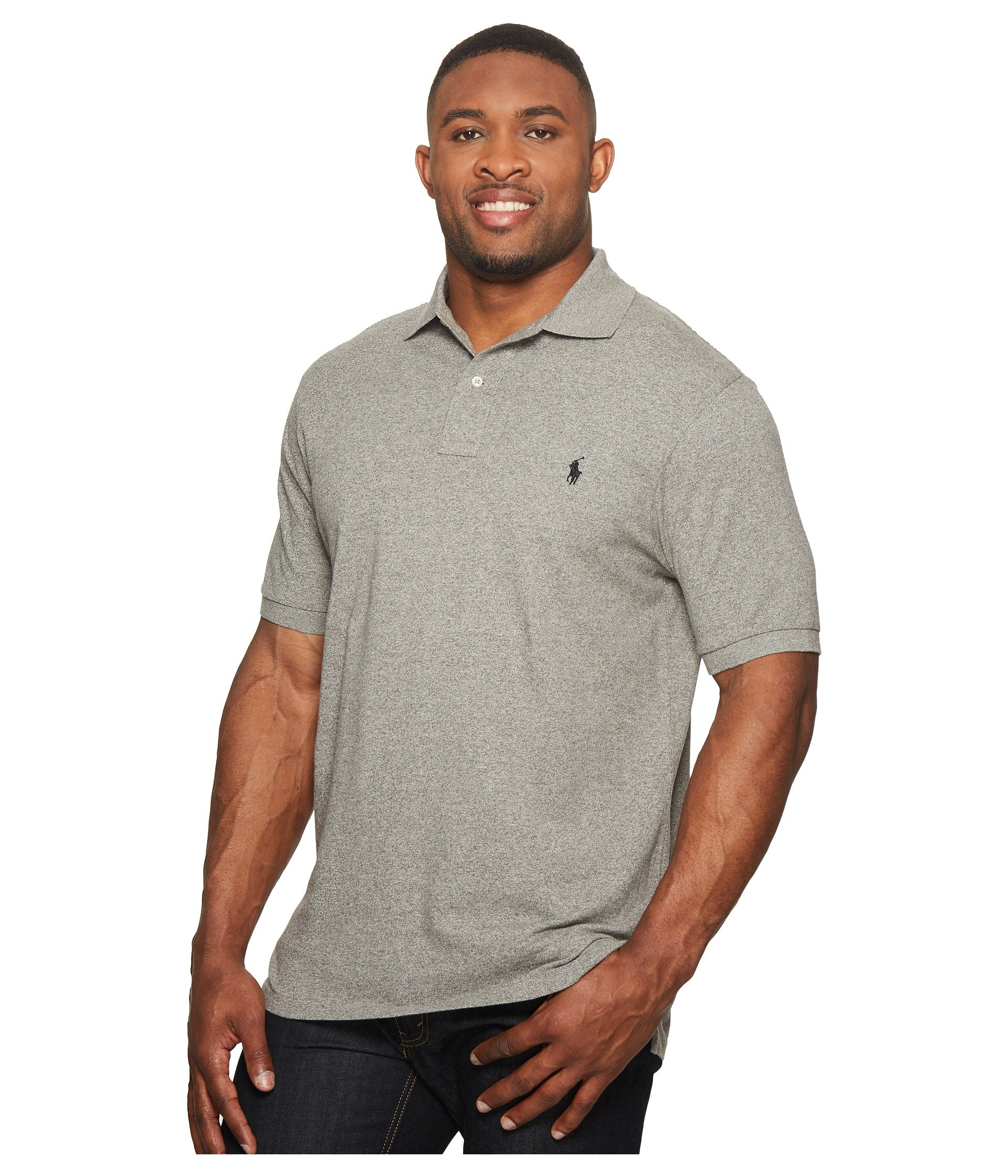 dacb952283c Polo Ralph Lauren Big   Tall Big and Tall Classic Fit Mesh Polo at ...