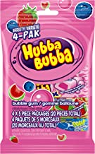 Hubba Bubba Bubblegum, Variety 4 PAK, {Imported from Canada}