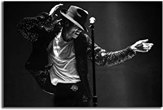 Poster #04 Michael Jackson 80s Pop Rock Musician Music 40x60 inch More Sizes Available