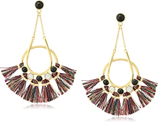 Rebecca Minkoff Utopia Tassel Chandeliers Drop Earrings