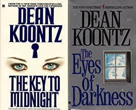 Set of 2 Dean Koontz Novels: The Key to Midnight and The Eyes of Darkness