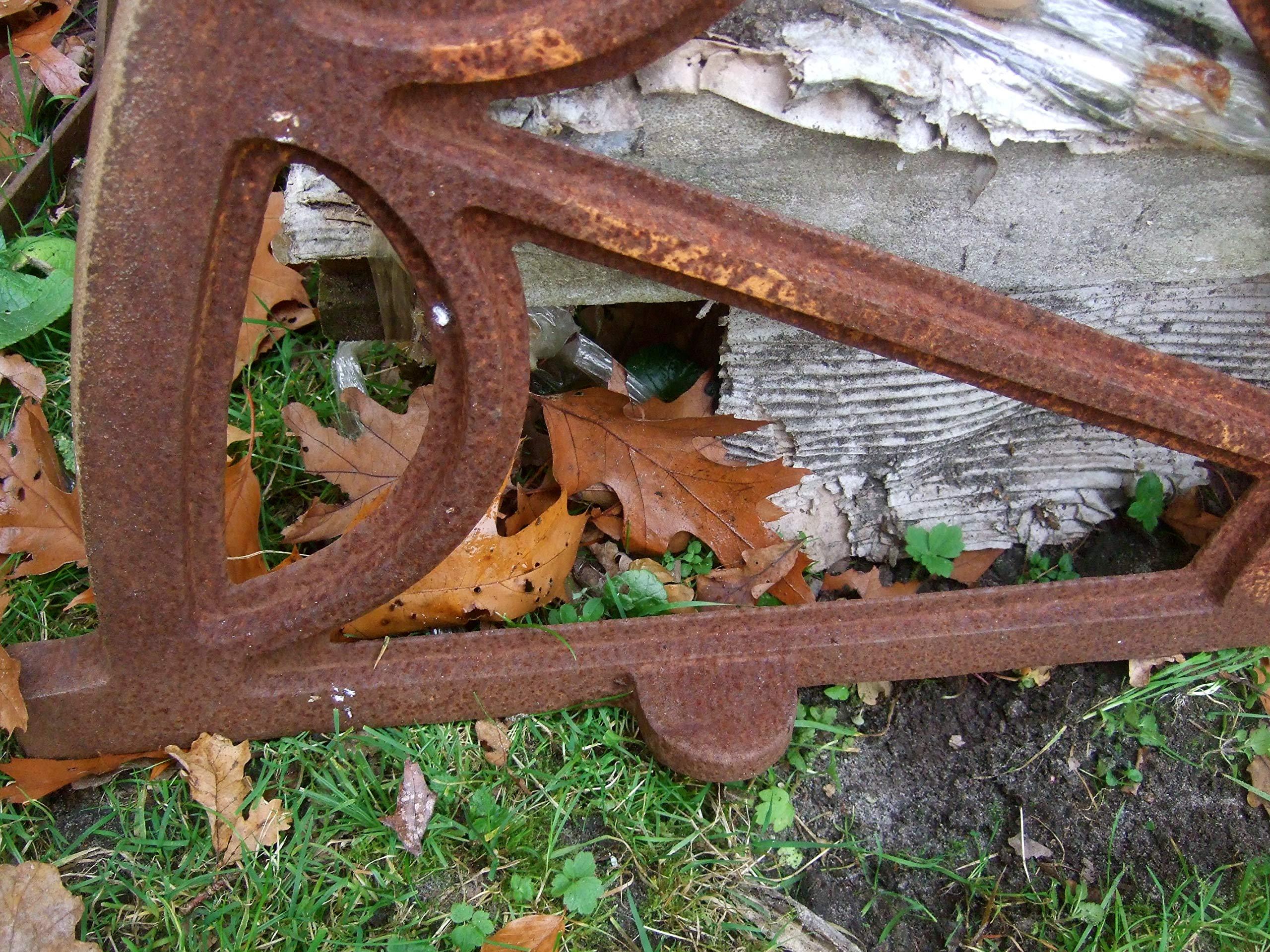 Antikas - Ventana de hierro, gran ventana para establo para muro de jardín, ventanas, Napoleon: Amazon.es: Bricolaje y herramientas