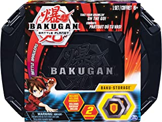 Bakugan, Baku-Storage Case (Black) Collectible Creatures, for Ages 6 and Up