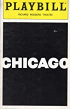 CHICAGO Playbill for the Broadway Revival - Richard Rodgers Theatre - Janunary 1997