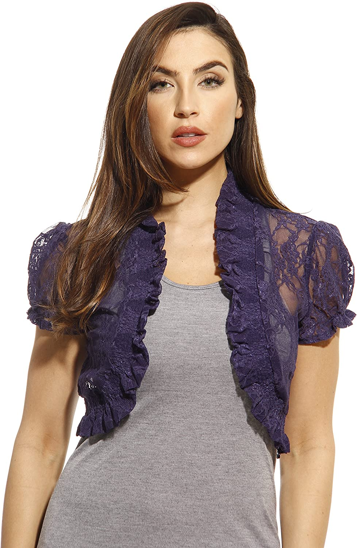 Just Love Lace Shrug Shrugs Women Cardigan