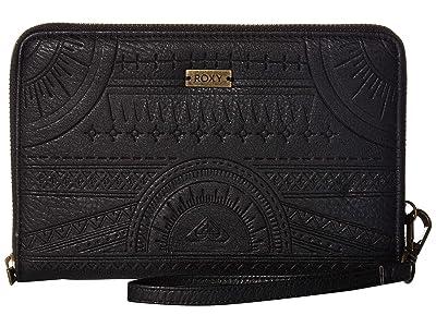Roxy Snow Tree Wallet (Anthracite) Wallet Handbags