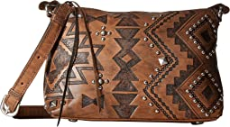 American West - Nomad Heart Zip Top Crossbody