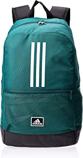 adidas Unisex'  Classic 3-Stripes Backpack, Collegiate Green