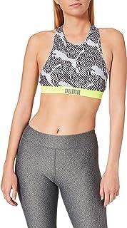 PUMA Swim Women's all-Over-Print Highneck Top Reggiseno per Bikini Donna