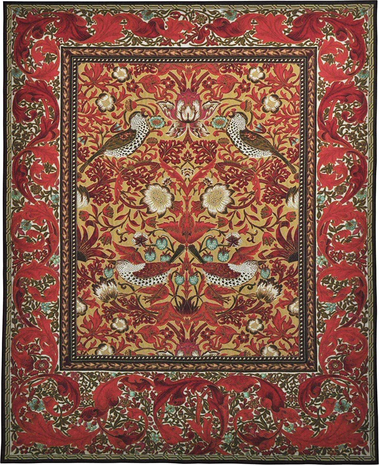 Strawberry Max 47% OFF Thief Red by William Wall Max 59% OFF Woven Tapestry Art Morris