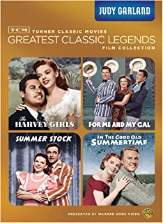 TCM Greatest Classics Legends: Judy Garland (The Harvey Girls / For Me and My Gal / Summer Stock / In The Good Old Summert...