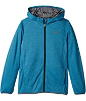 Under Armour Kids - Reactor Hybrid Hoodie Full Zip (Big Kids)