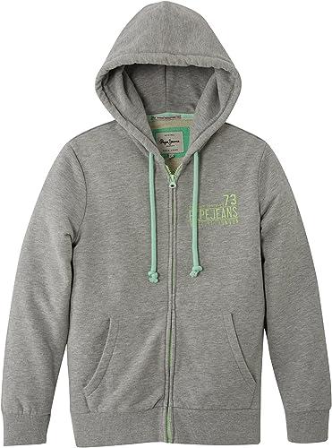 Pepe Jeans Bertram - Sweat-shirt à capuche - Uni - Manches longues - Garçon