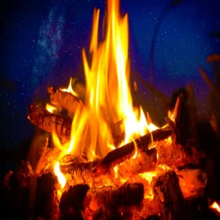 Rain and Storm Sounds with Crackling Fireplace for Relax and Sleep